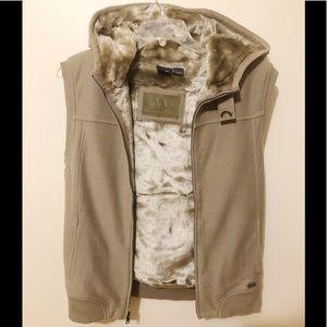 Armani Exchange Jackets & Coats - Armani exchange fur jacket medium (men)